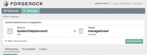 OpenIDM: Trying the new Admin UI