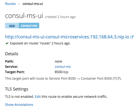 ForgeRock Identity Microservices with Consul on OpenShift